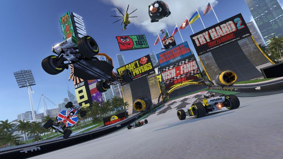 best ps4 racing games trackmania turbo
