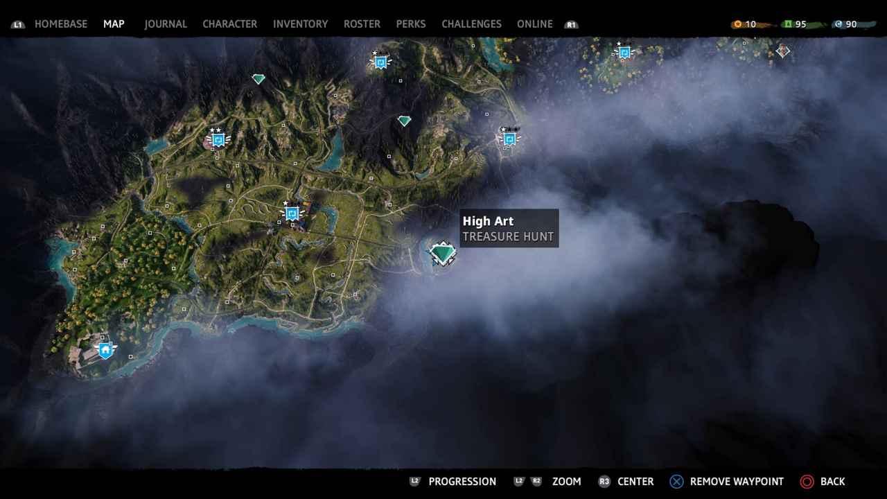 High Art Treasure Hunt Solution Far Cry New Dawn Playstation Universe