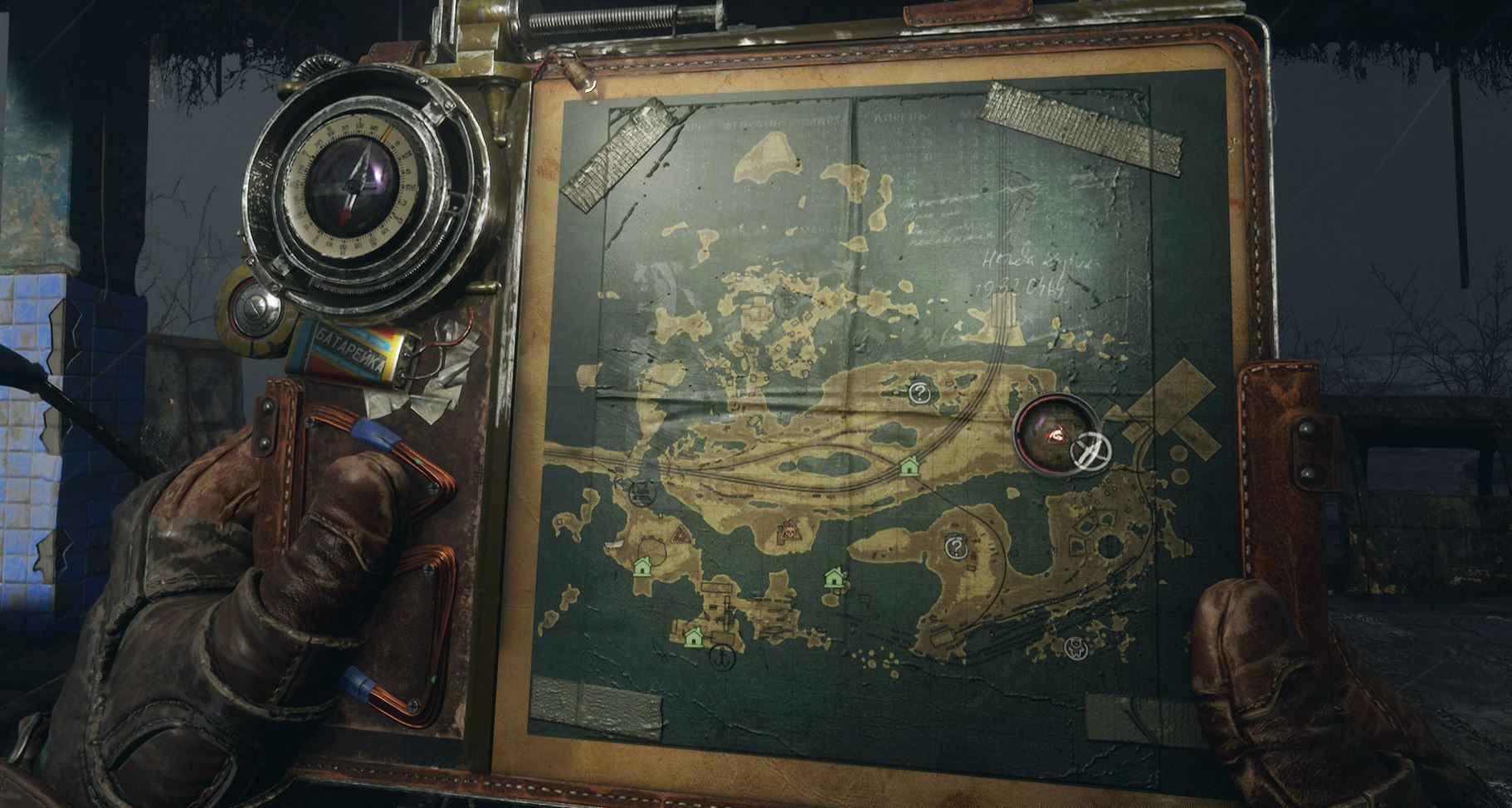 metro exodus desert map