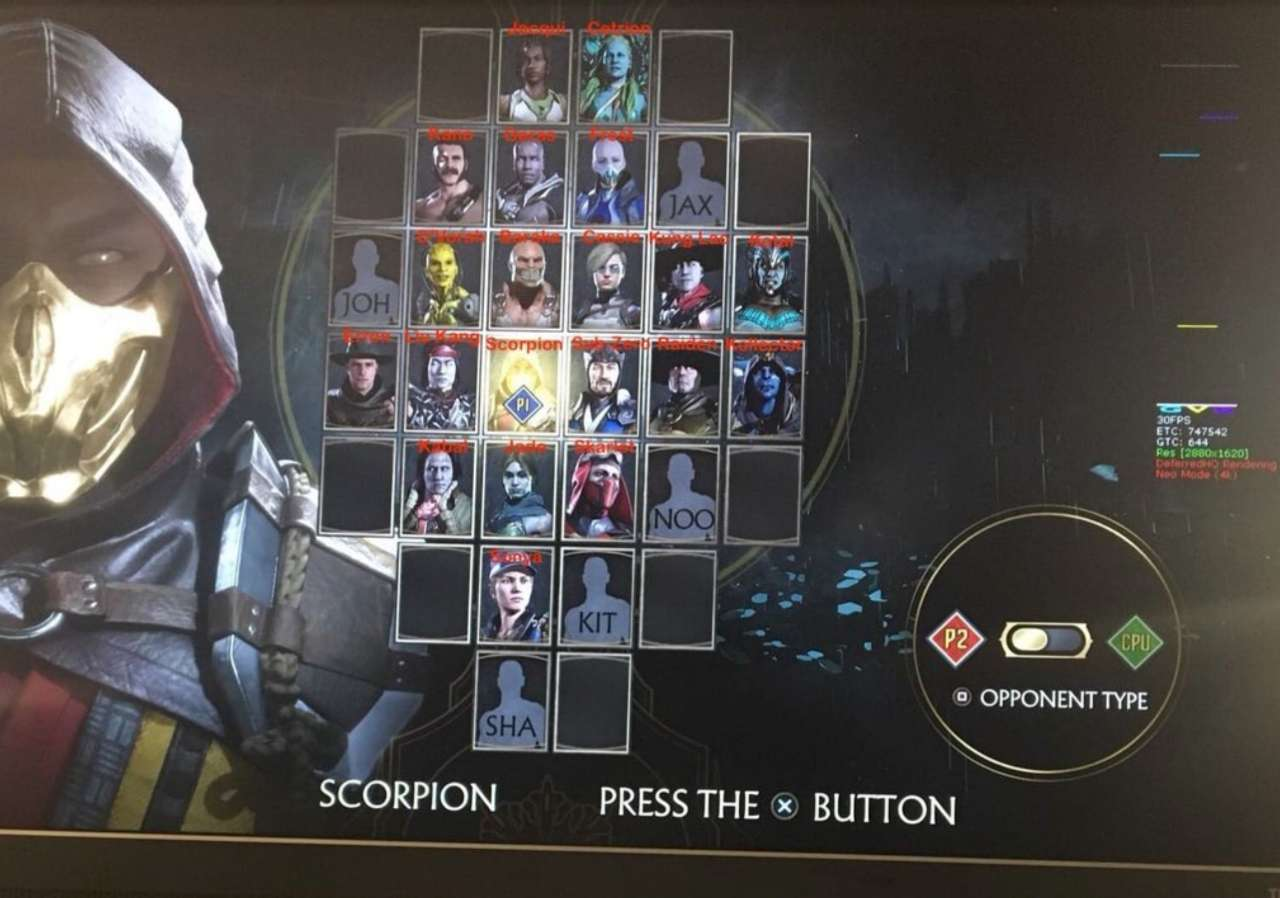 Mortal Kombat 11 Roster Leak Playstation Universe
