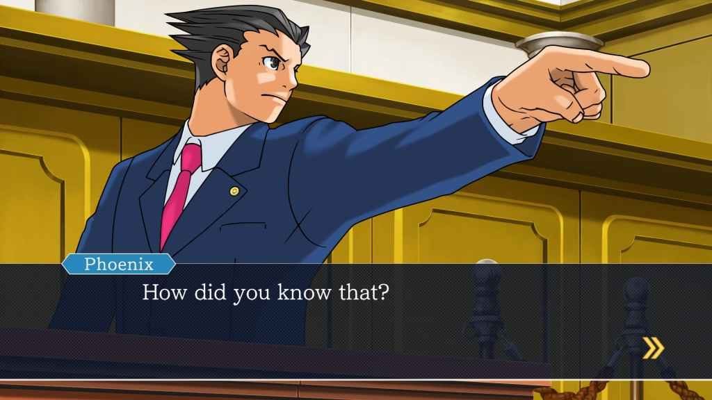 Phoenix Wright: Ace Attorney Trilogy PS4 Release