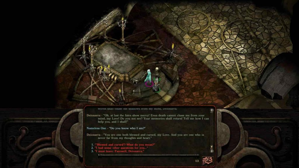 Planescape Torment Enhanced Edition PS4 screenshot