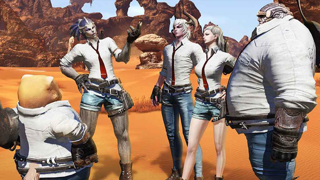 Pubg Stuck On Wallpaper: Tera's Surprise PUBG Crossover Event Kicks-Off Next Month