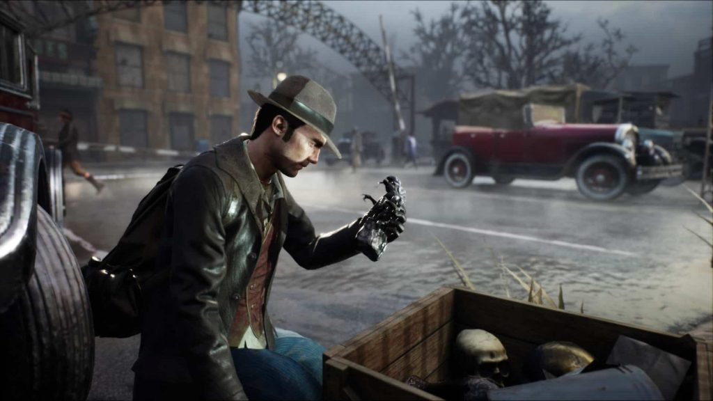 The Sinking City Detective Work