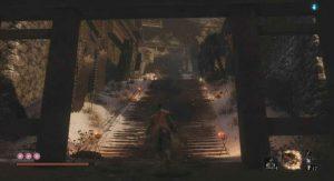 Sekiro: Shadows Die Twice Ashina Castle (Invaded) Walkthrough - Items, Enemies, Secrets