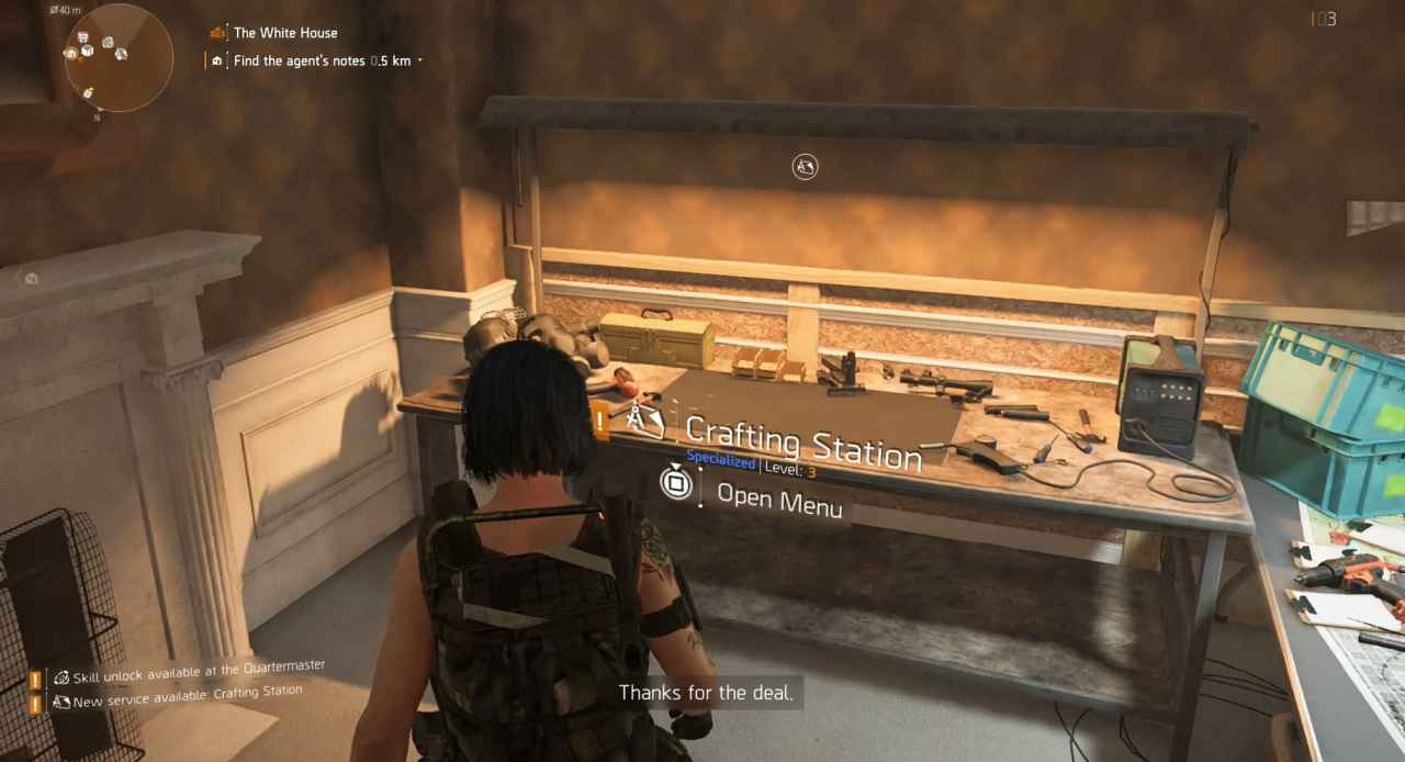 The Division 2 How To Unlock Superior High End Crafting Bench Upgrades Playstation Universe