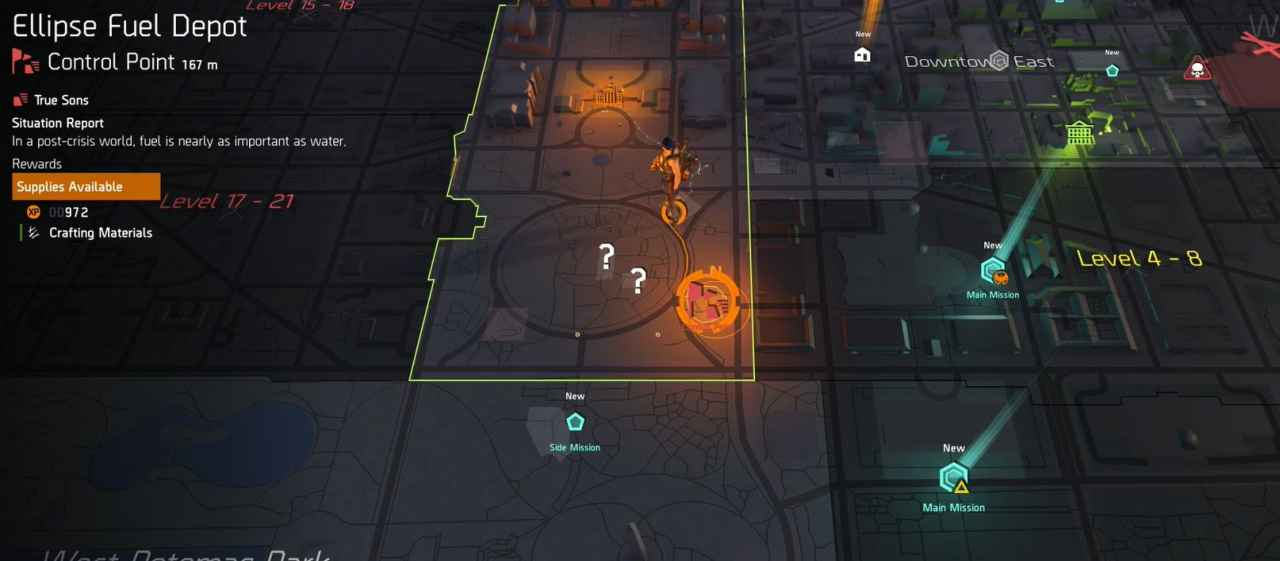 The Division 2 Control Points Explained - How They Work