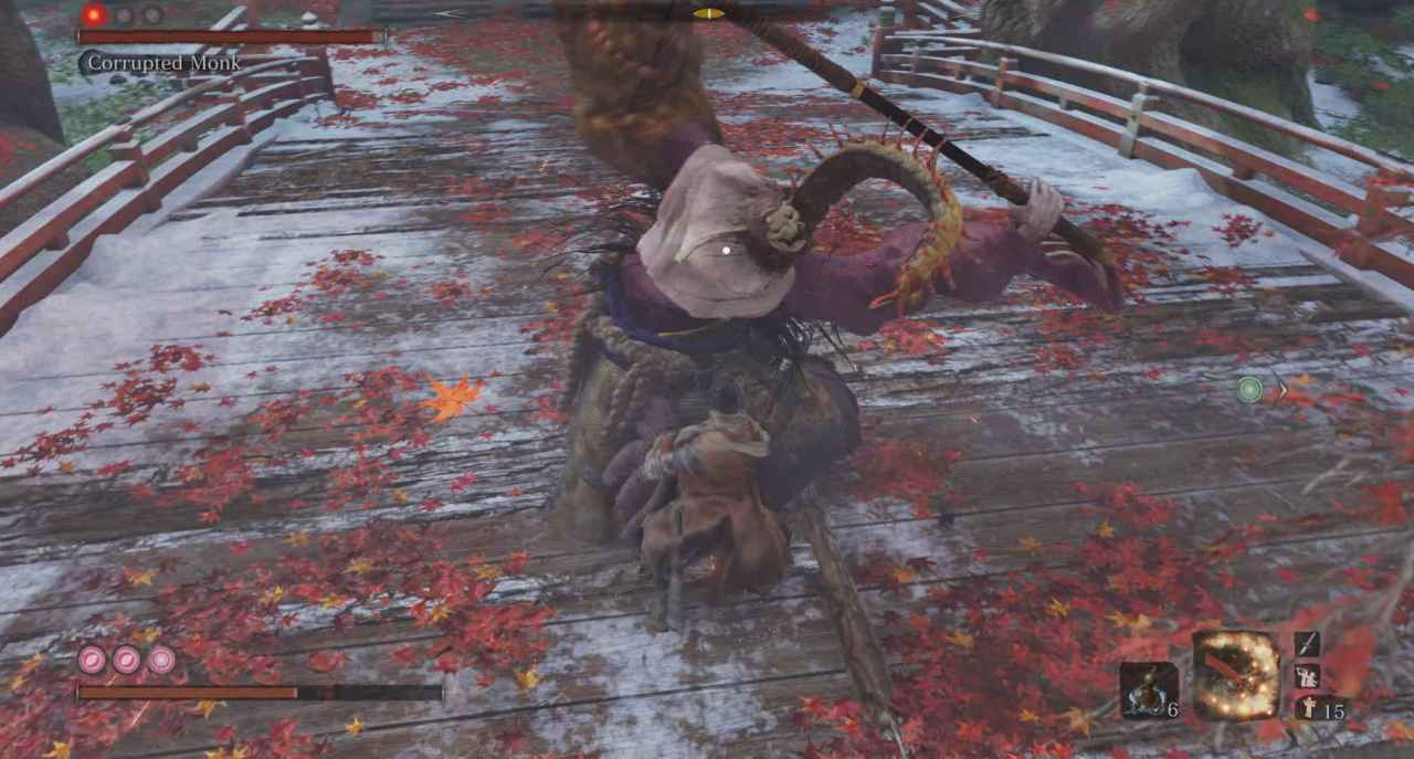 Sekiro: Shadows Die Twice Corrupted Monk Boss Guide - Fountainhead Palace