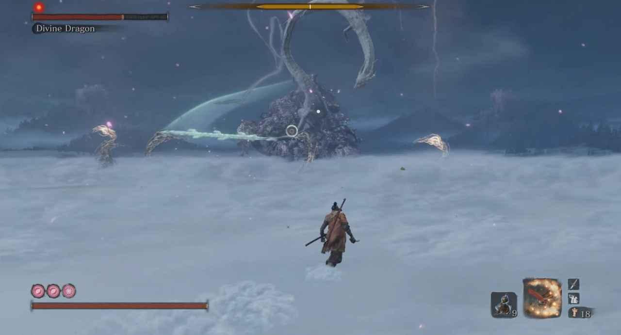 Sekiro: Shadows Die Twice Divine Dragon Boss Guide - Fountainhead Palace