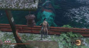 Sekiro: Shadows Die Twice Great Colored Carp Boss Guide - Fountainhead Palace