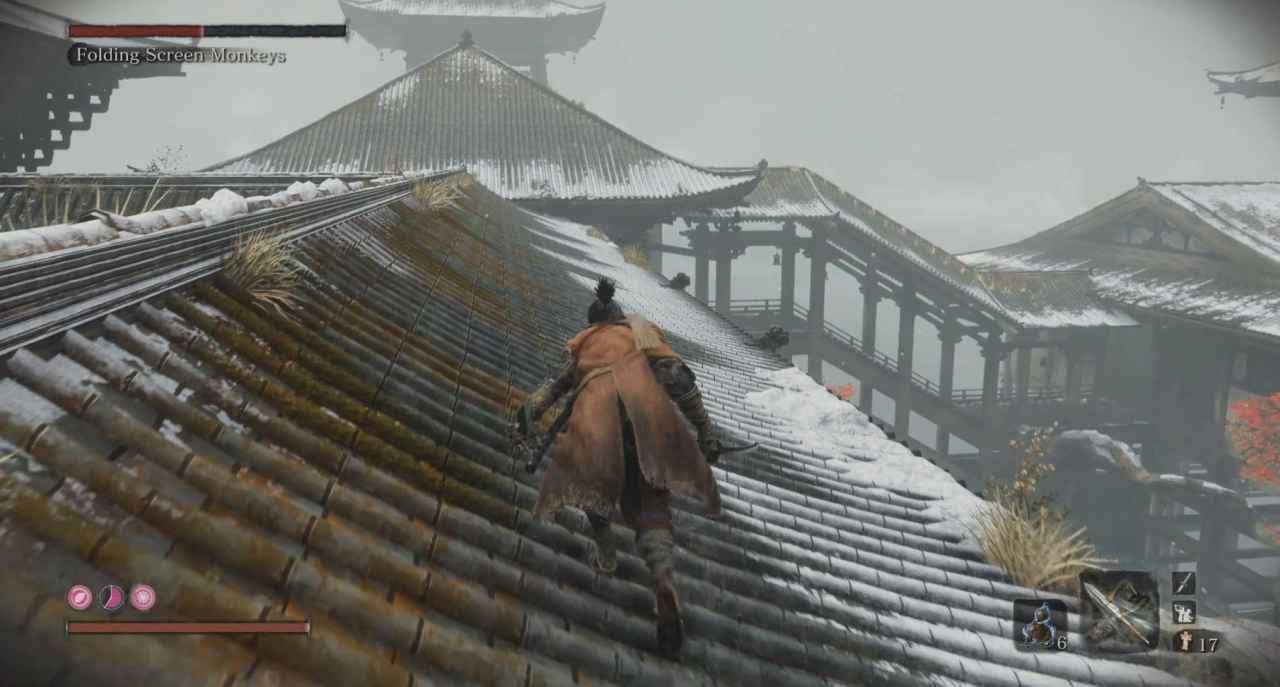 Sekiro: Shadows Sie Twice Folding Screen Monkeys Boss Guide - Senpou Temple, Mt. Kongo