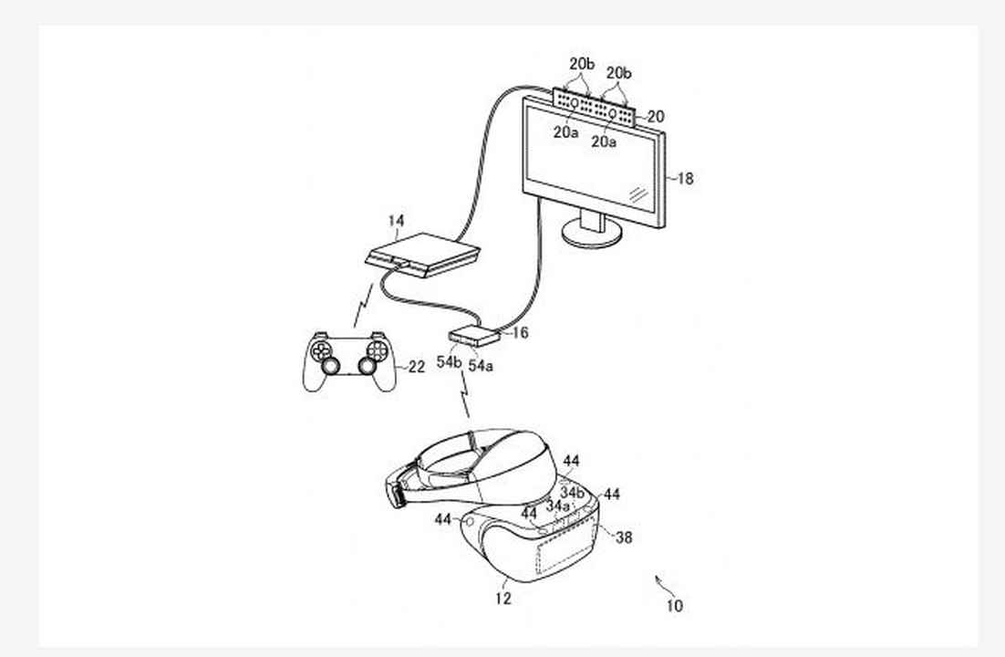Sony Files A Patent For A Wireless PSVR Headset