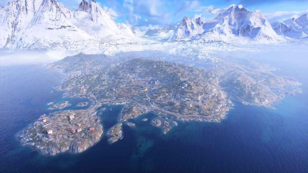 Battlefield V: Firestorm - Halvøy Map