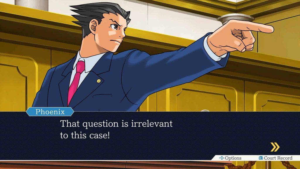 Phoenix Wright Ace Attorney Trilogy PS4 01