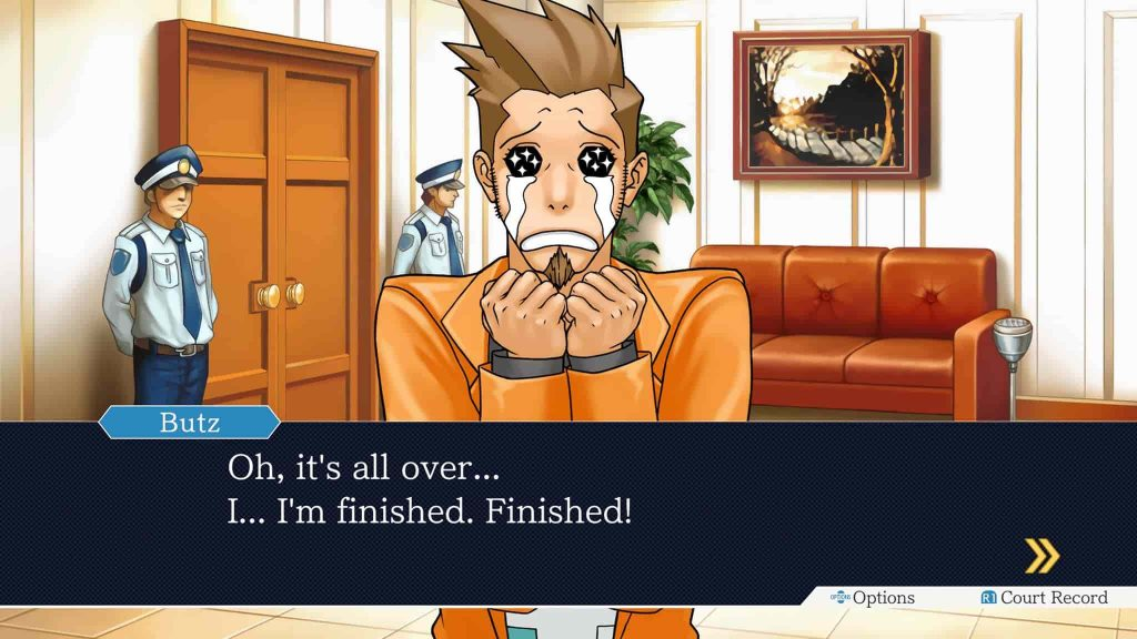 Phoenix Wright Ace Attorney Trilogy Review PS4 03
