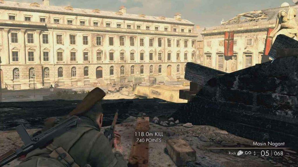 Sniper Elite V2 Remastered Opernplatz Walkthrough