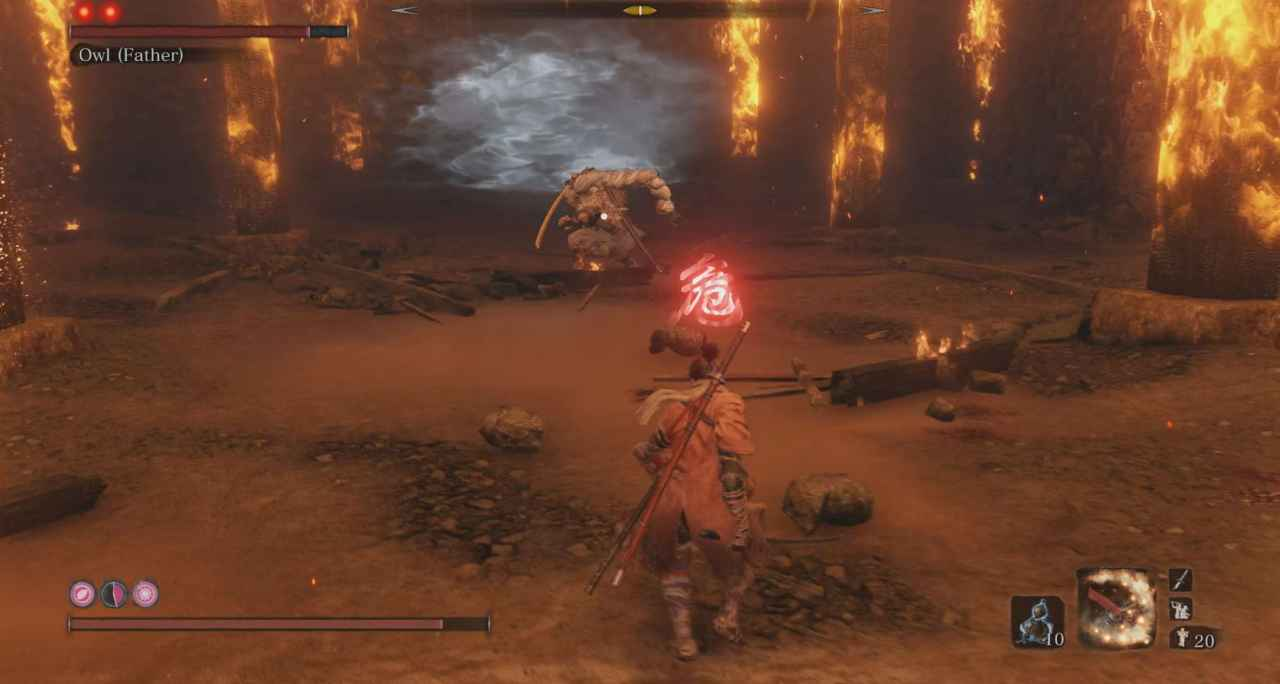 Sekiro: Shadows Die Twice Owl (Father) Boss Guide - Hirata Estate