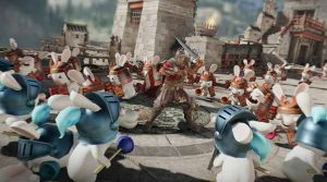 For Honor-Rabbids Crossover Event Header