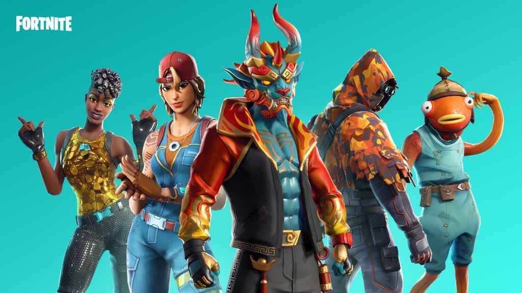 Fortnite v8.50 Update 01