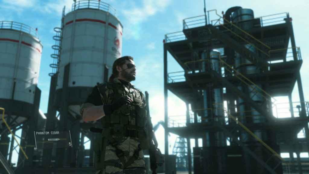 PlayStation Now April Update - Metal Gear Solid V