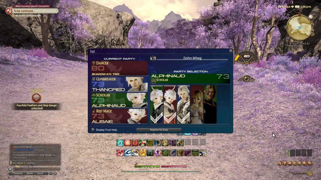 Final Fantasy XIV - Trust System impresses despite growing pains