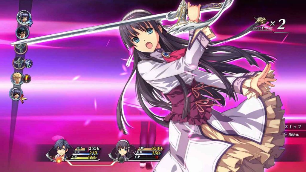 Trails of Cold Steel II Review special attacks