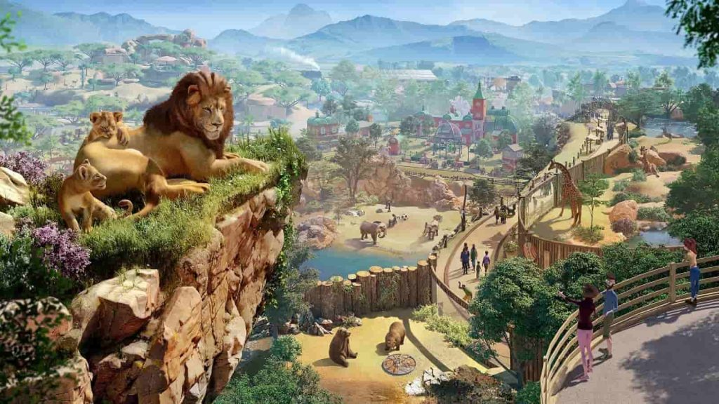 Planet Zoo PS4