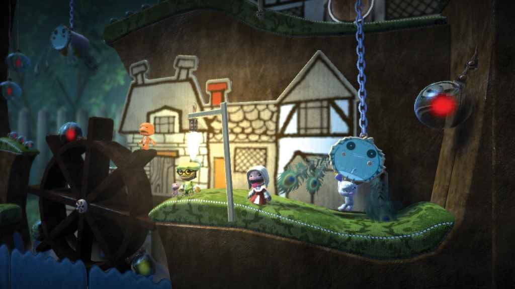 PS4 Split-Screen Multiplayer - LittleBigPlanet