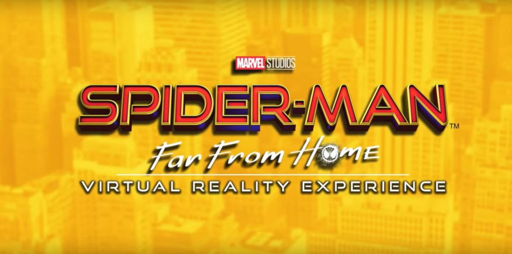 Spider-Man: Far From Home Virtual Reality Experience Review - PSVR