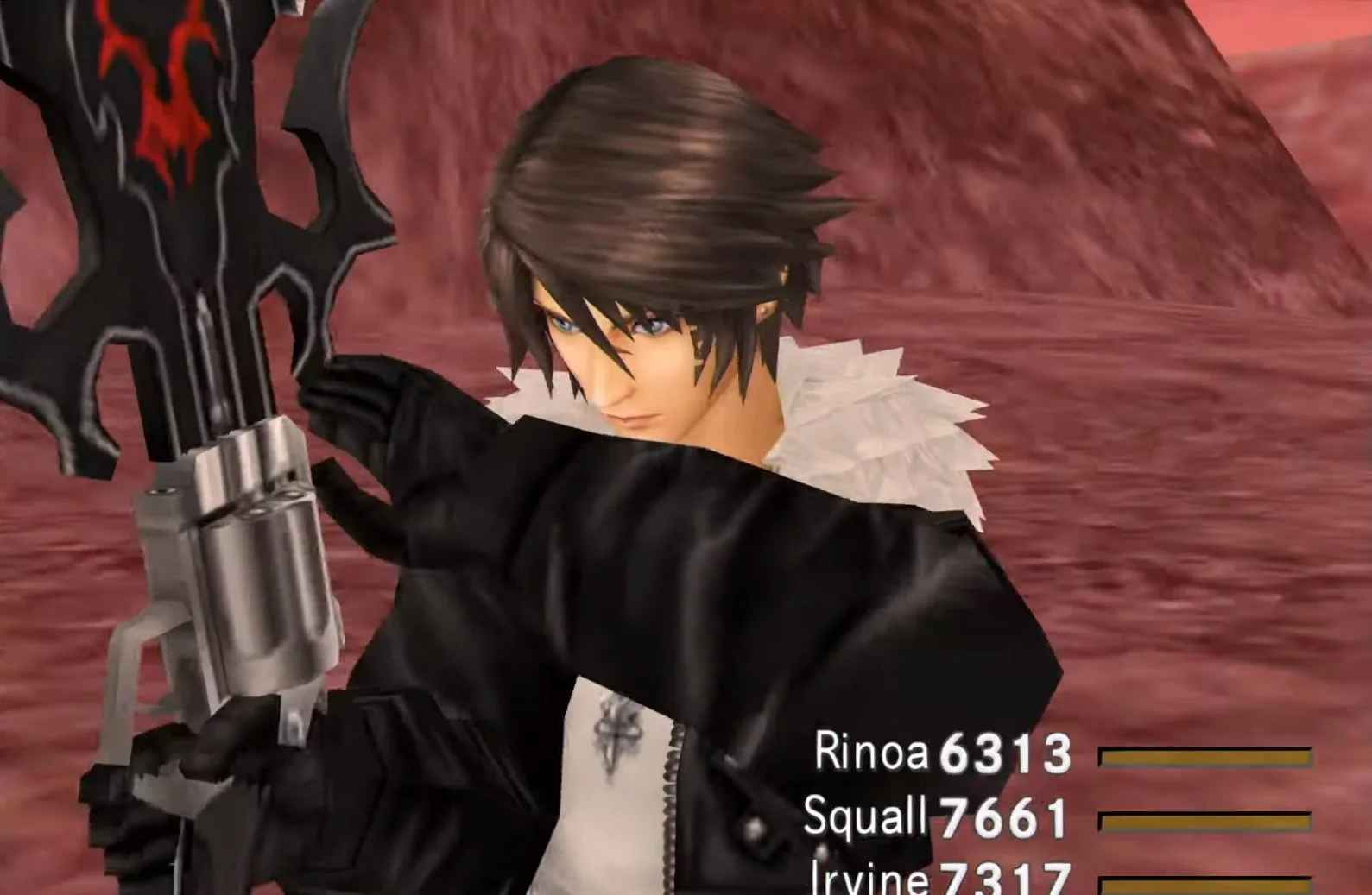 Final Fantasy 8 Remastered Squall
