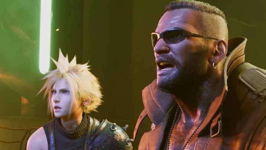 Final Fantasy VII Remake Barret Cloud
