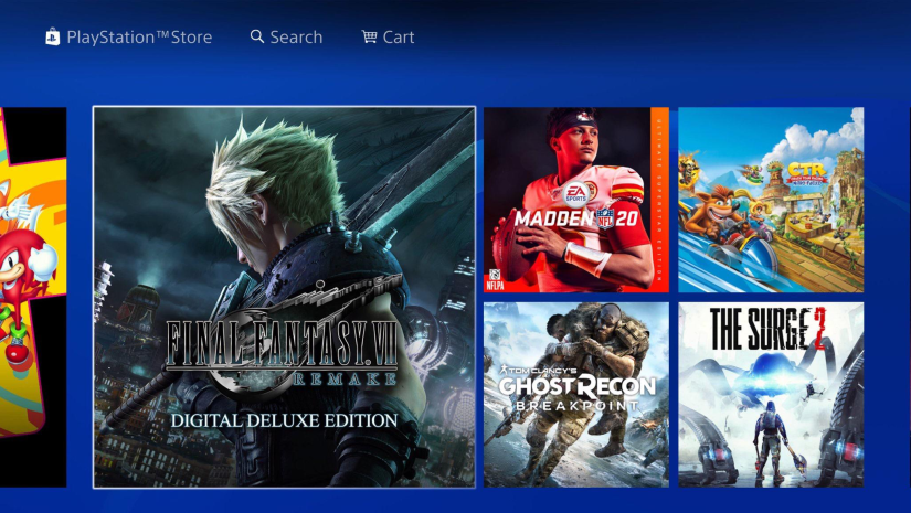 Final Fantasy 7 Remake Digital Deluxe Edition Spotted on PSN