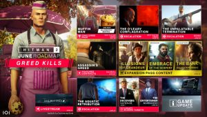 Hitman 2 June Roadmap Reveals New Missions, Contracts, and Updates
