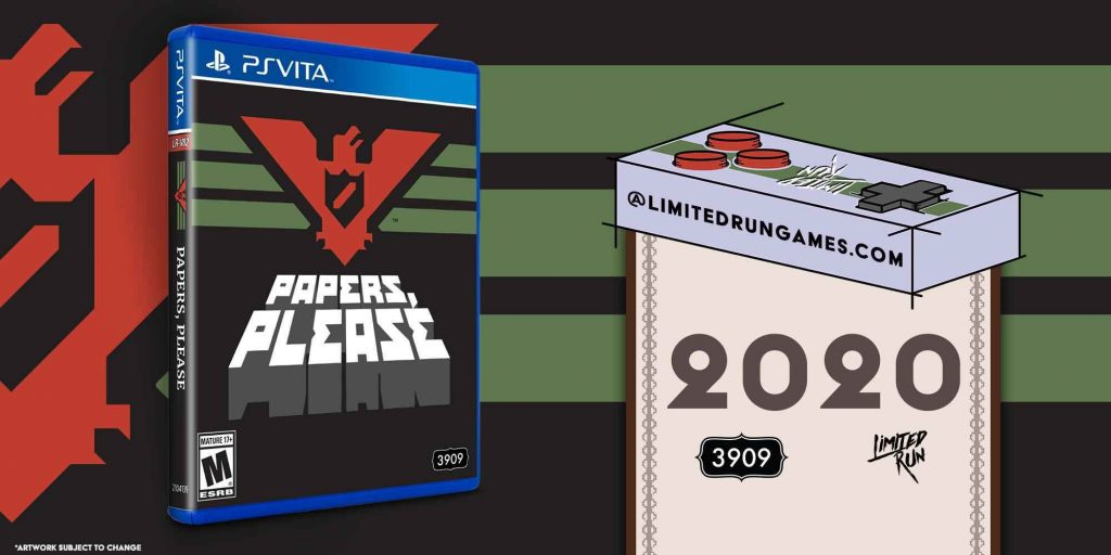 Papers Please PS Vita