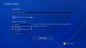 PlayStation Preview Program Allows You To Test Party Chat Update