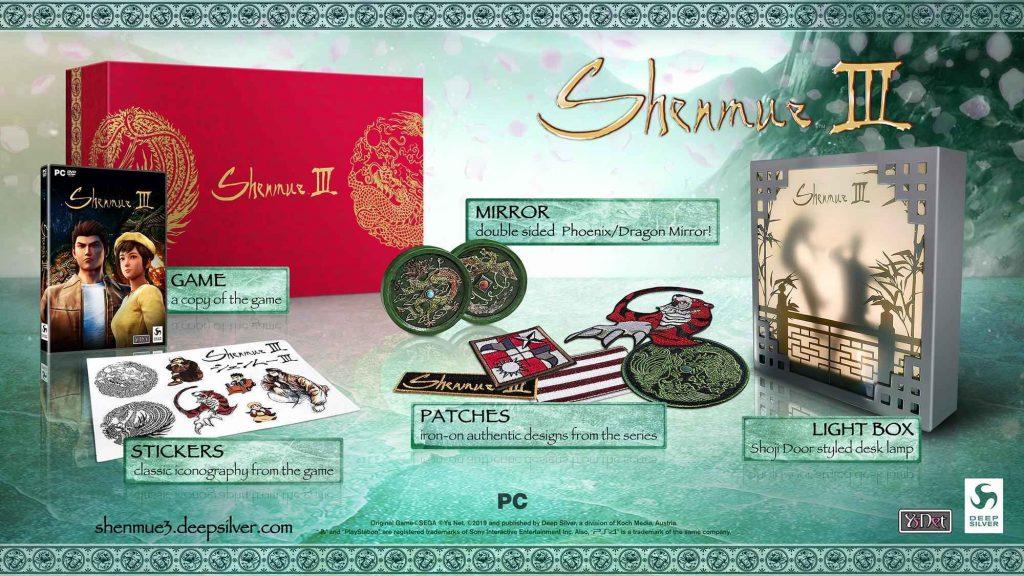Shenmue III Collector's Edition