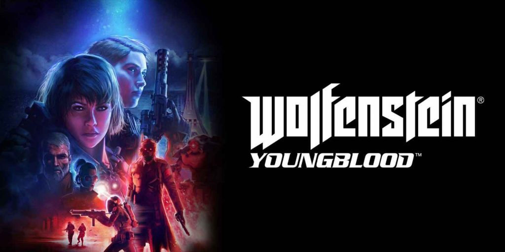 Wolfenstein youngblood cover art