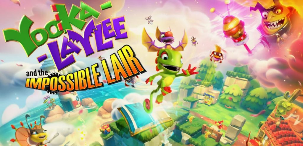 Yooka-Laylee and the Impossible Lair Comes To PS4 Later This Year