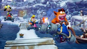 Crash Team Racing Nitro-Fueled - UK Charts