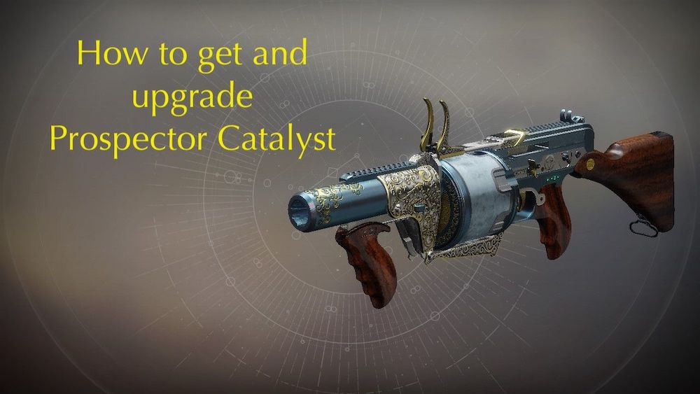 Destiny 2 - How to Get Prospector Catalyst - PlayStation