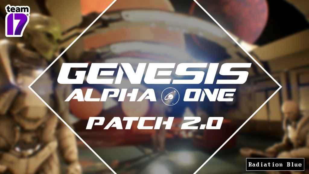 Genesis Alpha One Update 2.0