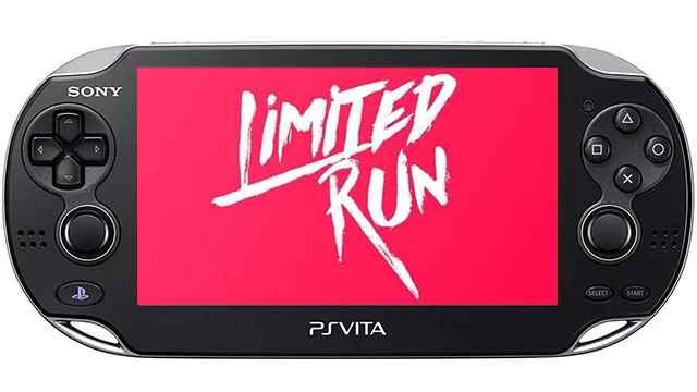 limited run e3 Vita