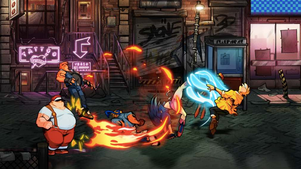 Looking Forward Streets of Rage 4 PS1
