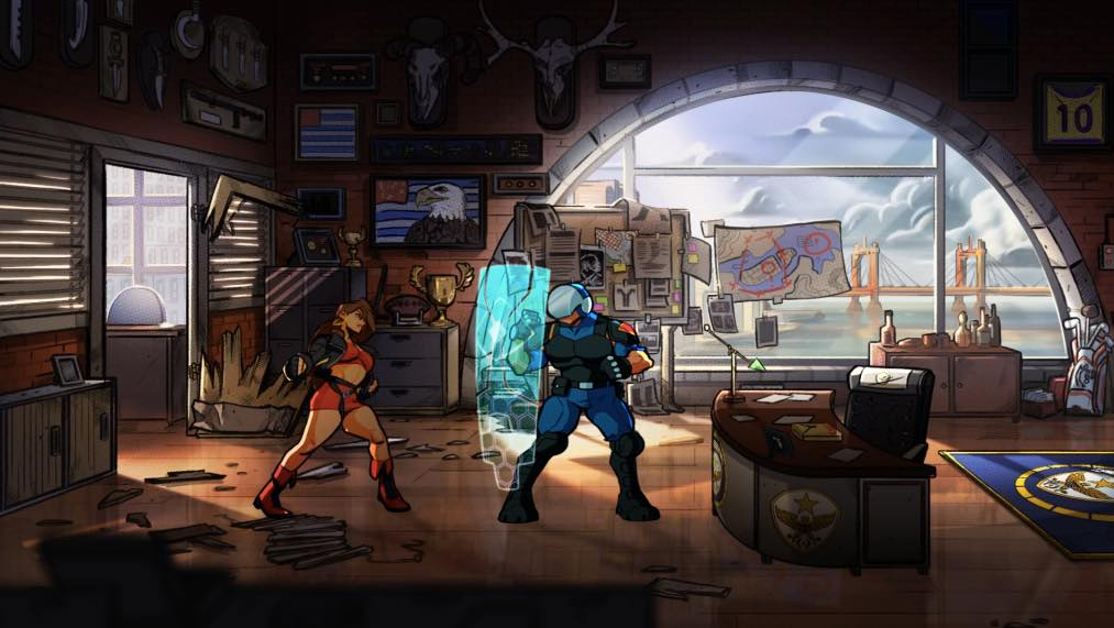 Looking Forward Streets of Rage 4 PS4 02
