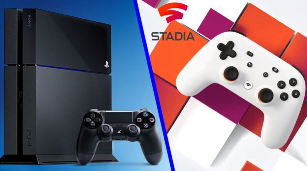 PS4 PS5 Google Stadia