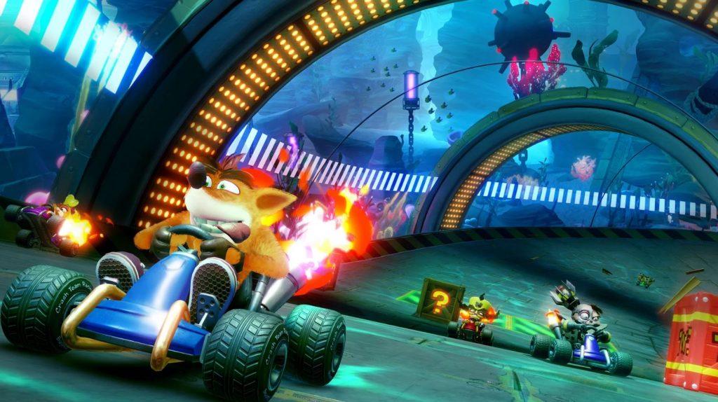 UK Charts: Crash Team Racing Nitro-Fueled Maintains Its Position