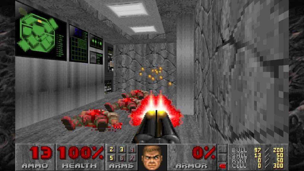 DOOM II Classic PS4 Review 01