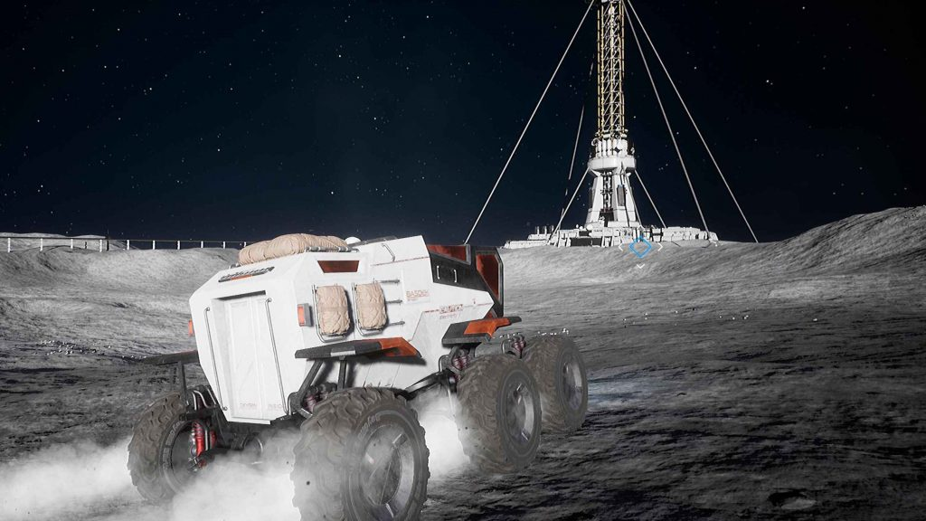 Deliver Us The Moon PS4 Rover