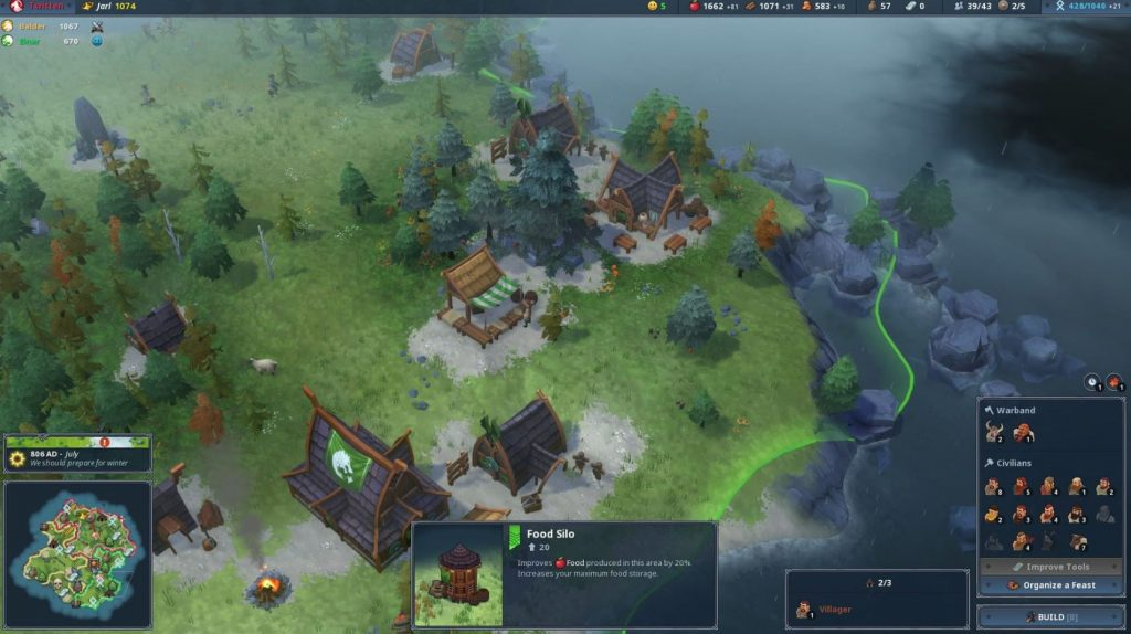 Viking Strategy Title Northgard Given A September Release Date On