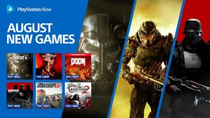 PlayStation Now August 2019 Update Adds A Bunch of Bethesda Titles